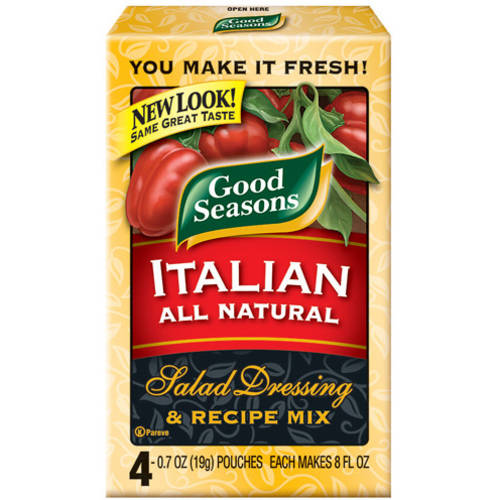 Good Seasons Italian All Natural Salad Dressing & Recipe Mix, 2.8 oz