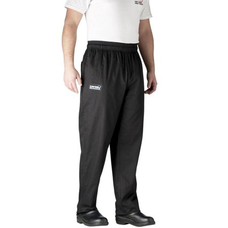 Chefwear 3500-30-2X Black Ultimate Chef Pants ()