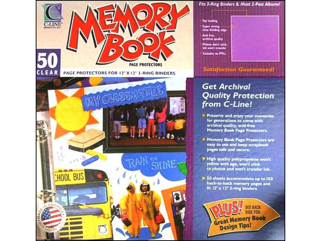 Creative Memories 12x12 Size Poly Page Protectors Old Style 15 sheets 30 Pages