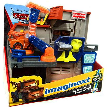 Fisher Price Disney Cars Cars 2 Imaginext Spy Mater Garage