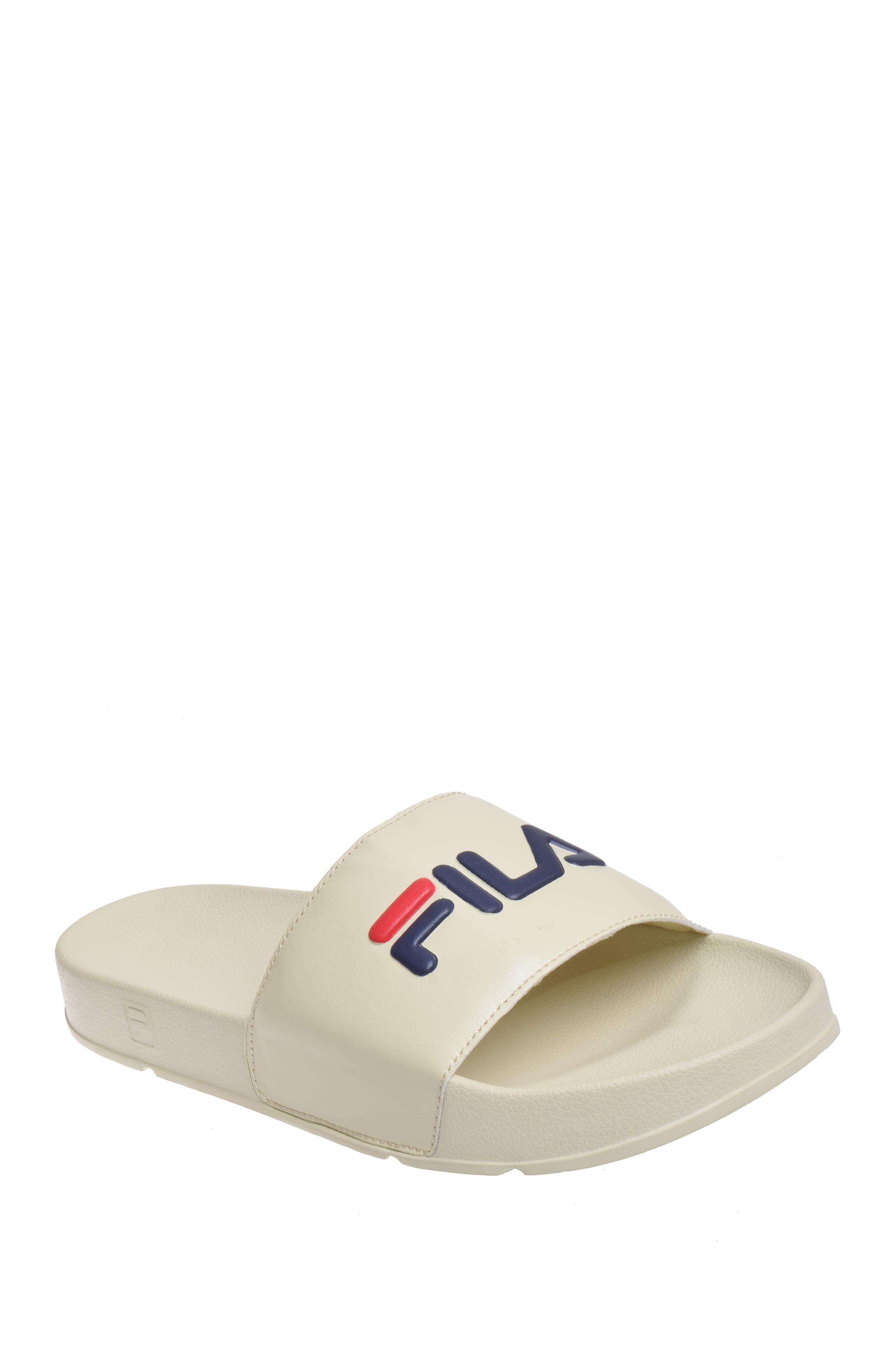 Fila Men's Drifter Slide Sandal Cream by