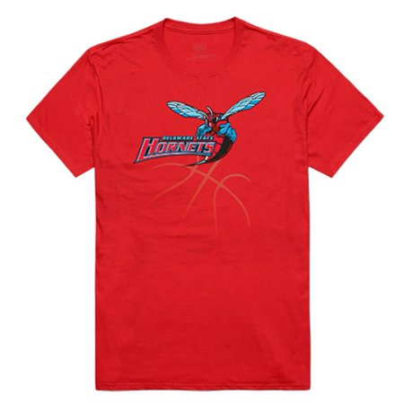 State Hornets Basketball - Delaware State University Hornet NCAA Basketball Tee T-Shirt