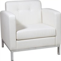 Astounding Faux Leather Reception Waiting Room Chairs Walmart Com Machost Co Dining Chair Design Ideas Machostcouk