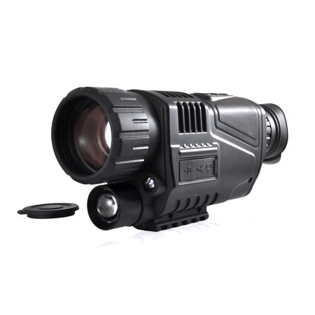 Viewing Images - Handheld Night Vision Camera, Night Vision Viewing up to 700 Feet Away, ReCord Video, Snap Images, LCD Display for Picture Preview and Instant Playback, Built-in Battery