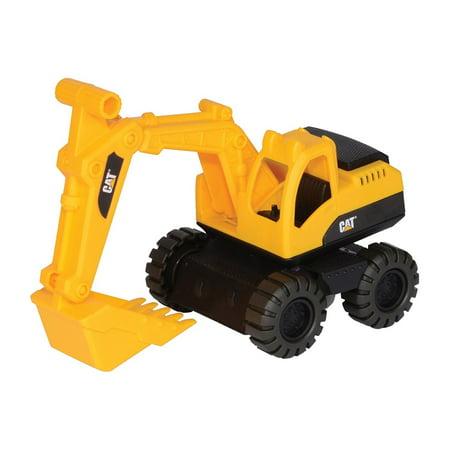 Caterpillar Wheel Loader Excavator Construction Toys Mini Machine Push-powered (Caterpillar Wheel Excavator)