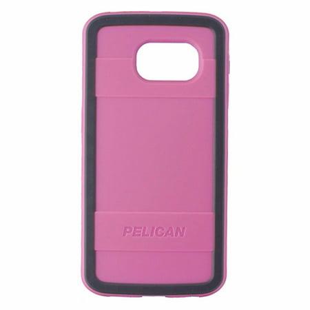 Pelican Progear Series Hybrid Case for Samsung Galaxy S6 Edge - Pink / Gray (Samsung A197)