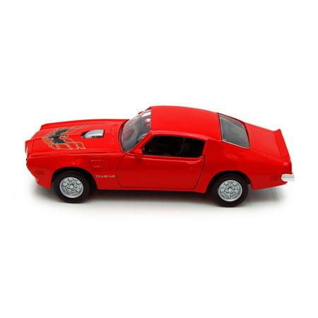 1973 Pontiac Firebird, Red - Showcasts 73243 - 1/24 scale Diecast Model Toy Car