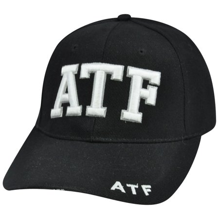 ATF Alcohol Tobacco Firearm Constructed Agent Curve Bill Hat Cap Enforcement Law