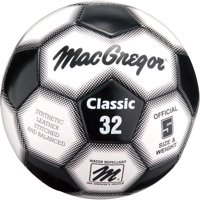 161a98eb6 Product Image MacGregor Classic Soccer Ball, Size 3, Black and White