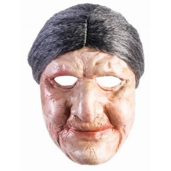MASK - OLD LADY - BEIGE](Old Fashioned Plastic Halloween Masks)