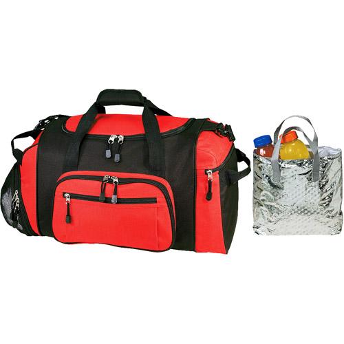 "Traveler's Choice 20"" Exodus Duffel Bag with Cooler Bag"