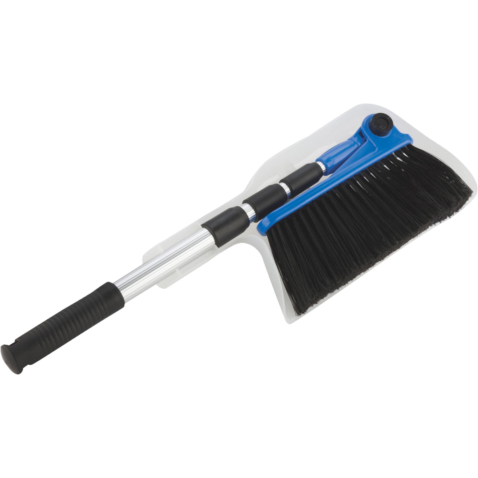 Camco RV Broom with Dust Pan by Camco