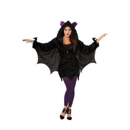 Hoodie Bat Adult Costume for $<!---->