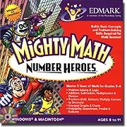 Edmark 28007 Mighty Math Number Heroes