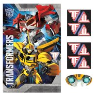 Transformers Party Game (Each) - Party Supplies