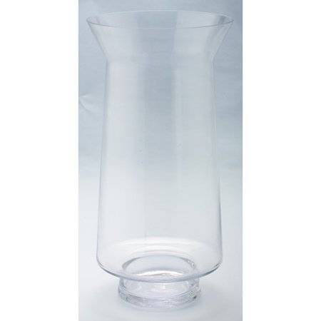 Diamond Star Glass Glass Hurricane Vase Walmart