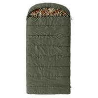 Ozark Trail North Fork 30F Flannel Hooded Sleeping Bag