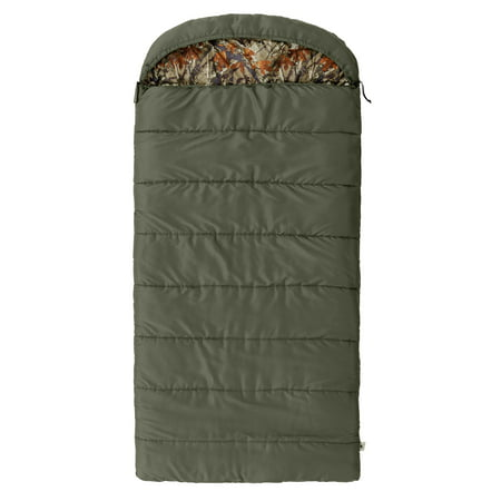 Ozark Trail North Fork 30F Flannel Hooded Sleeping Bag ()