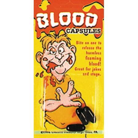 Blood Capsules 3 Per Card - image 1 of 1