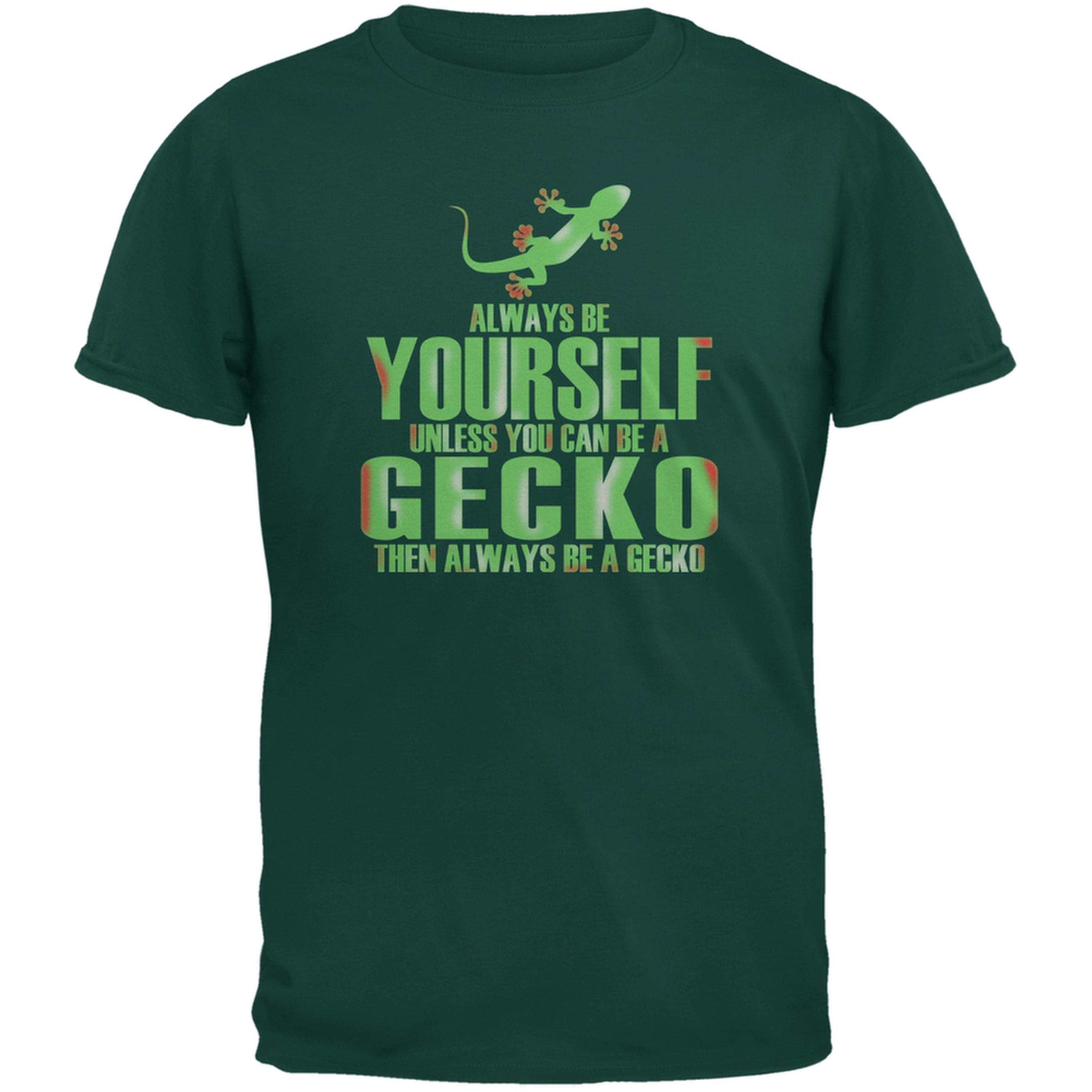 Always Be Yourself Gecko Forest Green Youth T-Shirt