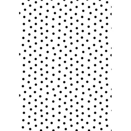 Embossing Folder Dot Background 5X7 By Darice