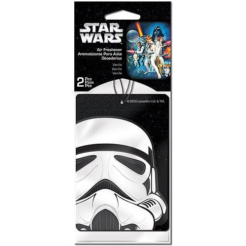 Plasticolor Star Wars Stormtrooper Air Fresheners, 2-Pack
