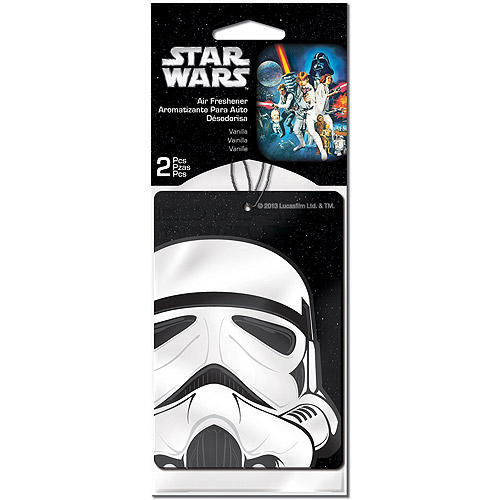 Plasticolor Star Wars Stormtrooper Air Fresheners, 2-Pack