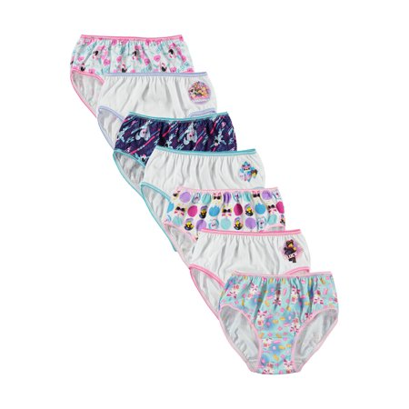 LEGO Movie, Girls Underwear, 7 Pack Panties (Little Girls & Big Girls)