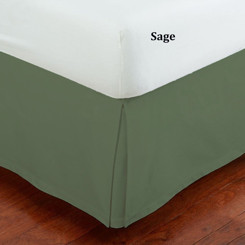 Green Bed Skirts Dust Ruffles Walmart Com