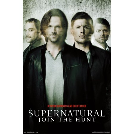 Supernatural Color - Trends International Supernatural Key Art Wall Poster 22.375