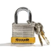 Guard Security 102260 730 Laminated Steel Padlock with 1.25 in. Standard Shackle