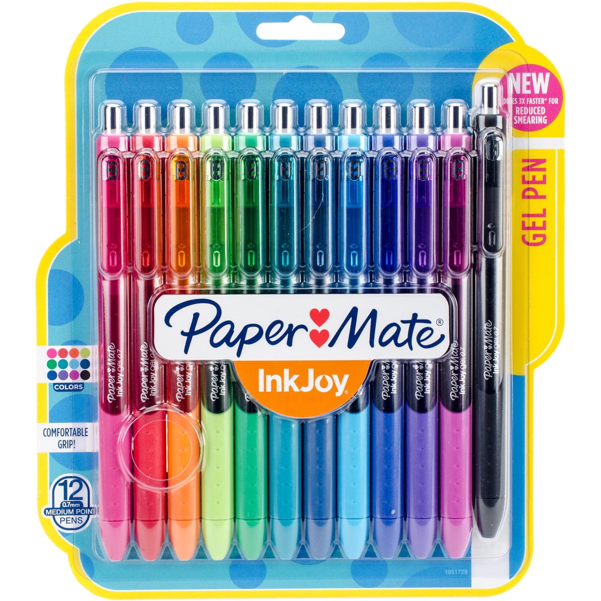 Paper Mate Inkjoy Gel Pens .7mm 12/Pkg Assorted