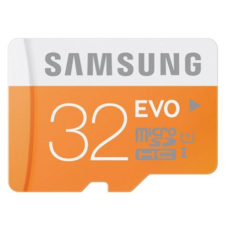 Samsung Evo 32GB Micro SDHC MicroSD Memory Card High Speed Class 10 L9V for Samsung Galaxy J3 J5 J7, Note 3 4 Edge, S5 S7 Edge S8 S8+, Tab 4 NOOK 10.1 (SM-T530) 7.0 (SM-T230) E NOOK 9.6 (Samsung Galaxy Note 3 Memory Card Slot)