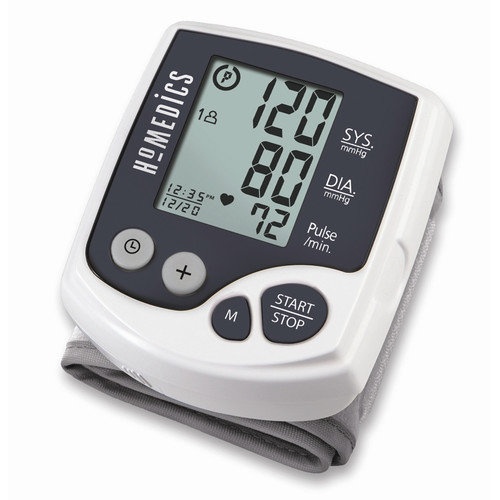 HOMEDICS Blood Pressure Wrist Monitor with Smart Technology