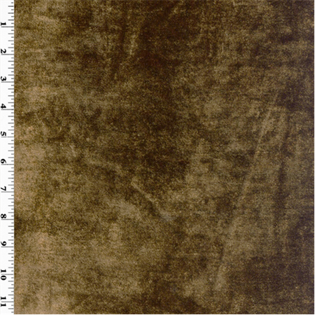 Chocolate Brown Velvet - Chocolate Brown Vintage Silk Velvet Home Decorating Fabric, Fabric By the Yard