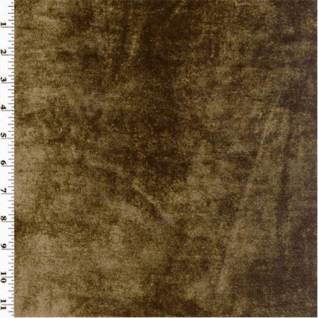 fabric velvet brown yard chocolate silk decorating fabrics