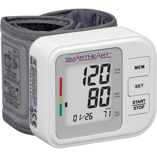 Veridian Healthcare Automatic Digital Wrist Blood Pressure Monitor