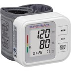 relion wrist blood pressure monitor manual