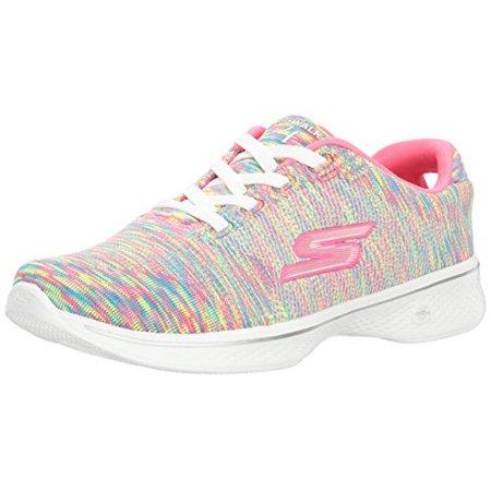 Skechers Performance Women's Go 4-14178 Walking Shoe, Multi, 8.5 M US