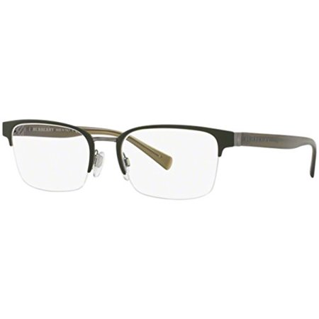 Eyeglasses Burberry BE 1308 1222 GUNMETAL/MATTE (Burberry Eyeglasses Men)