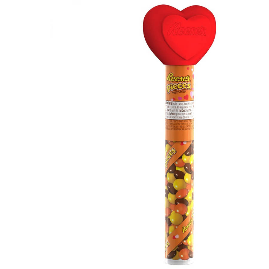 Hershey's Reese's Pieces Candy Filled Valentine Cane, 1.4 Oz.