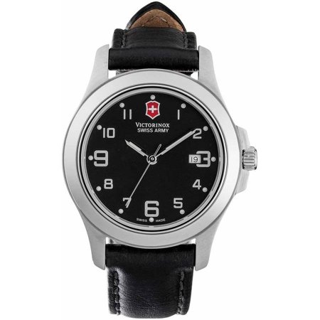 Swiss Army Victorinox Garrison Elegance Leather Women's Watch, 241389.CB