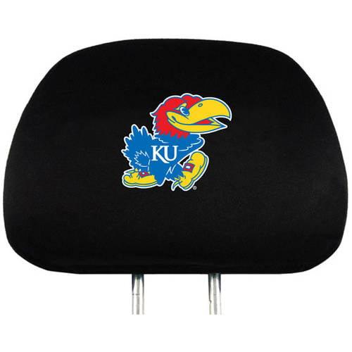 NCAA Kansas University Jayhawks Headrest Cover