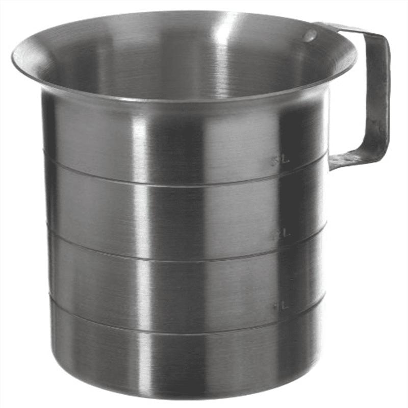 Browne (ML40) 4 qt Aluminum Liquid Measuring Cup ML40