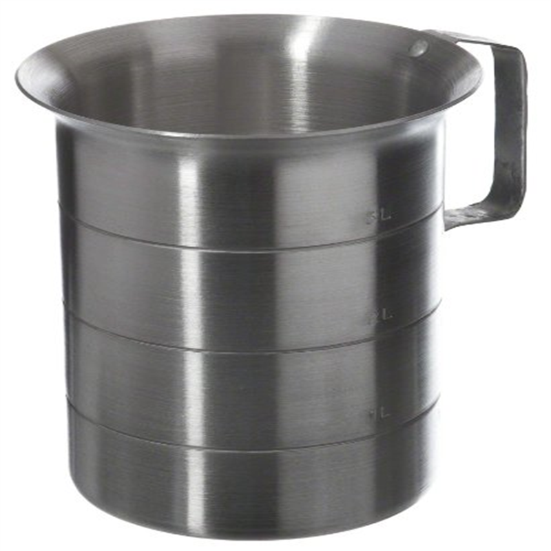 Browne (ML40) 4 qt Aluminum Liquid Measuring Cup