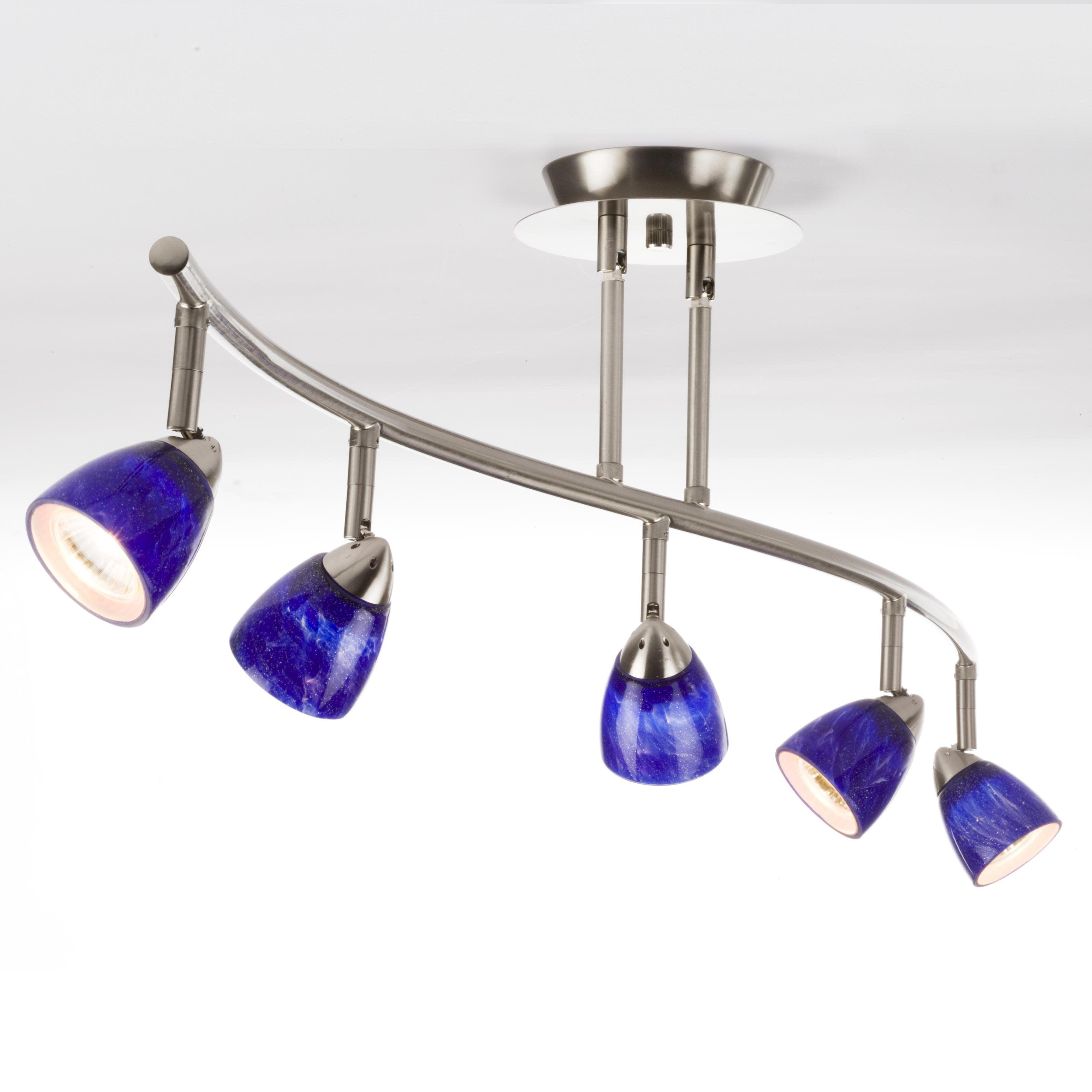 Cal Lighting Serpentine Rail Light Bar - 5 Heads