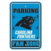 NFL Carolina Panthers Parking Sign