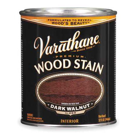 Rust-Oleum Wood Stain, Dark Walnut 211730H