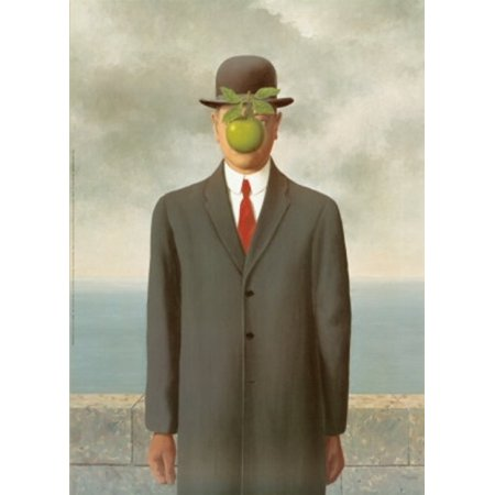 The Son of Man  c.1964 Poster Print by Rene Magritte (11 x (Magritte Modern Poster)