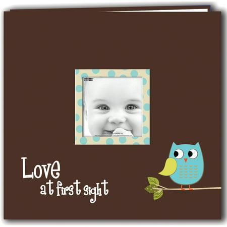 "Pioneer Baby Owl Post Bound Album 12""X12""-Blue - image 1 de 1"